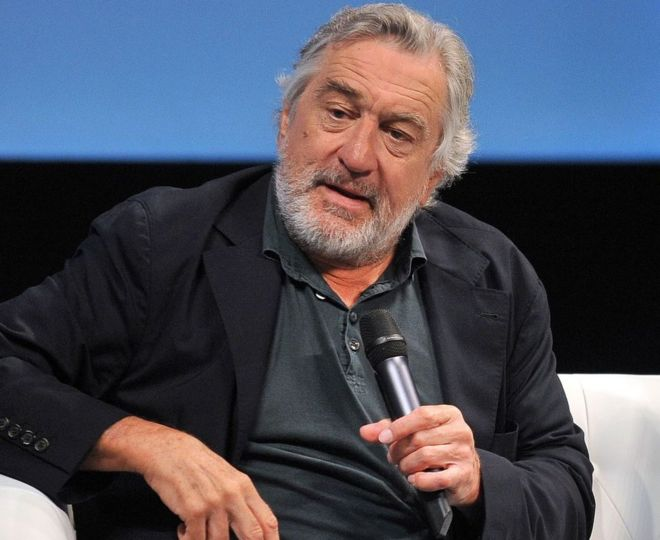Robert De Niro pictured at the Sarajevo Film Festival on August 13, 2016.