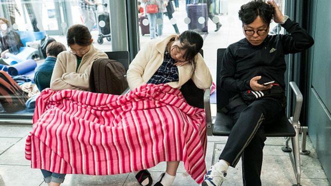 Travel chaos at Heathrow