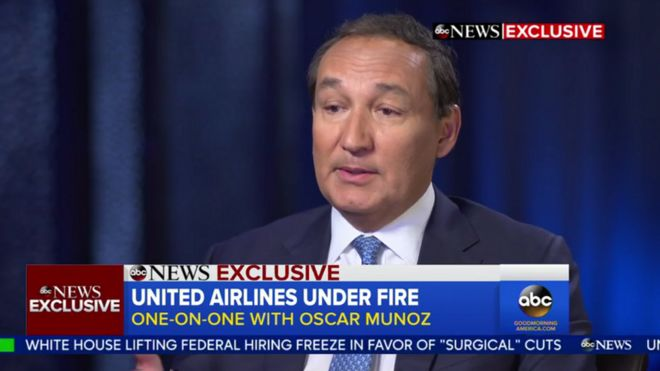 Карьера директора United Airlines под угрозой из-за скандала