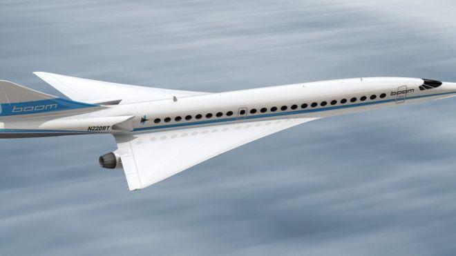 Boom Supersonic, el avión supersónico silencioso que aspira a llenar el vacío dejado por el Concorde