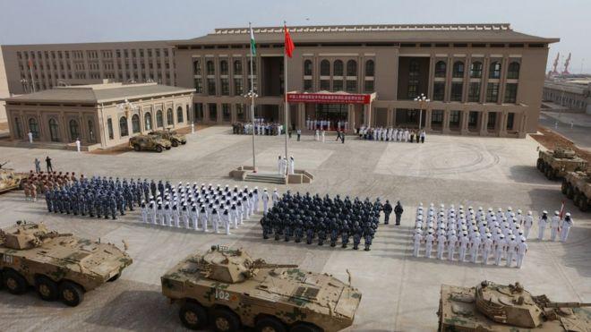 中國去年在吉布提建立了一座軍事基地