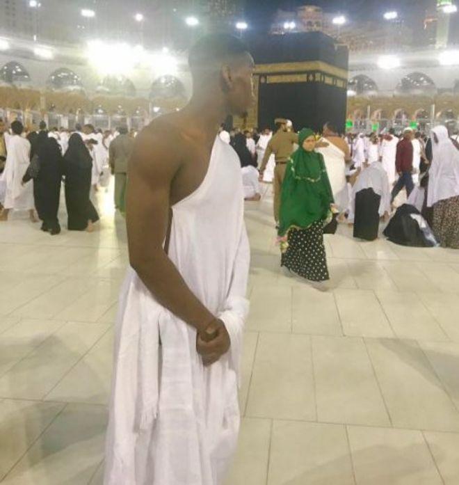Paul Pogba in Mecca