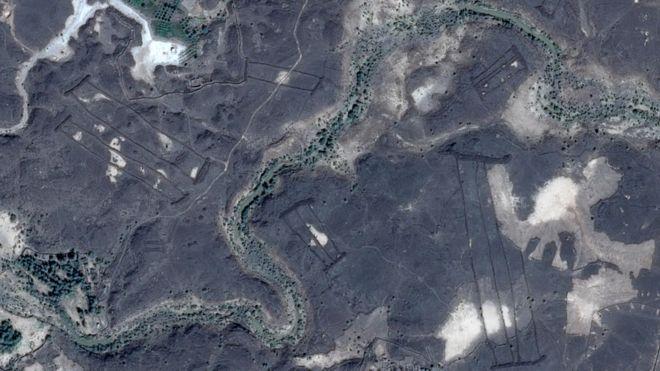 Las misteriosas estructuras de piedra descubiertas con Google Earth en el desierto de Arabia Saudita