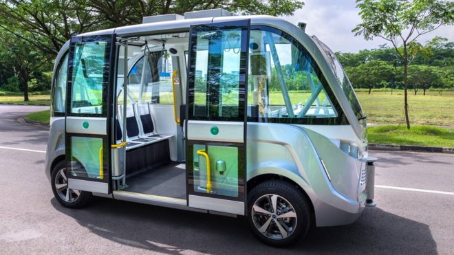 Driverless shuttle