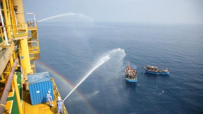 Có thông tin Trung Quốc kéo giàn khoan vào vùng biển tranh chấp