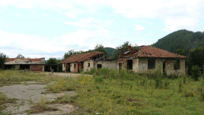 Заброшенная ферма в Болгарии