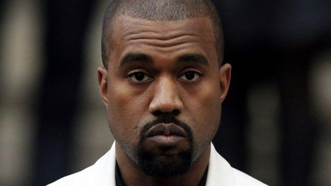 Msanii wa muziki wa rap nchini Marekani Kanye West,