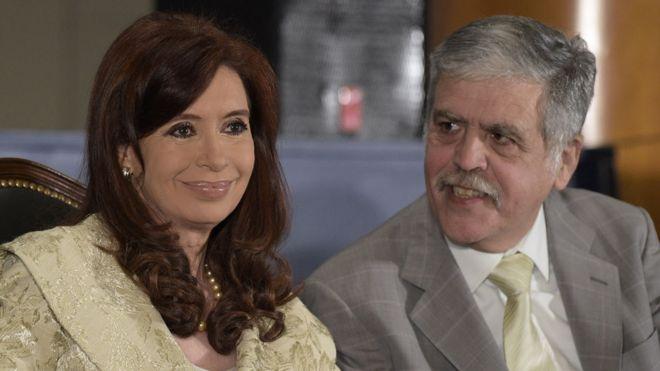 Cristina Kirchner y Julio de Vido