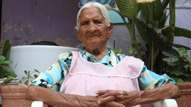 María Félix Nava, aged 116