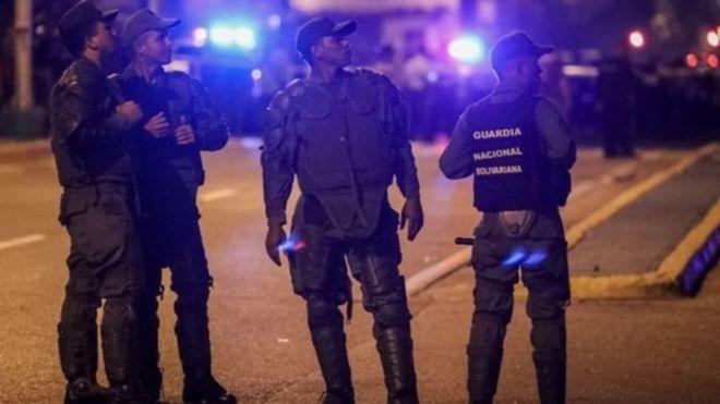 Guardias Nacionales venezolanos