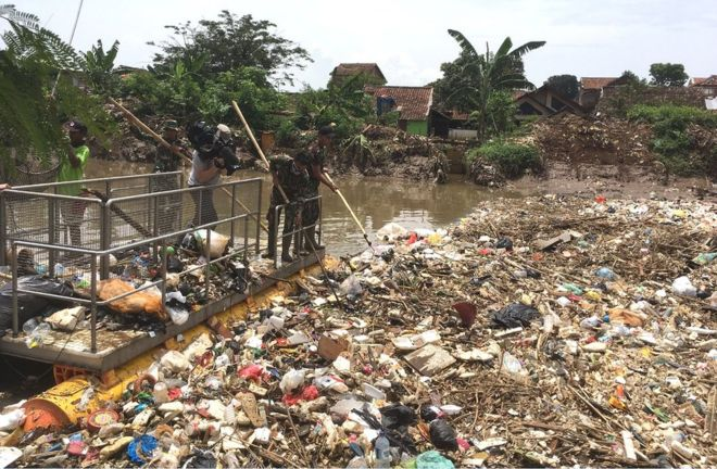 plastic waste problem