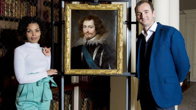 The newly rediscovered portrait of the Duke of Buckingham by Rubens dates from around 1625