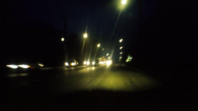 Ночь, дорога