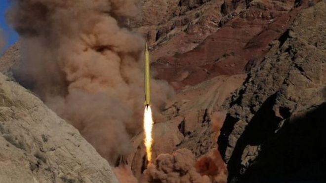 Iran inasema kuwa imefanyia majaribio kombora la Khorram-shahr.