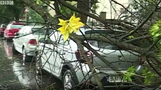 До України наближається ураган, який залишив десятки жертв в Румунії