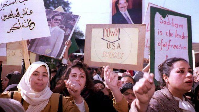 Mudaaharaad ka dhacay Baqdaad sannadkii 1992