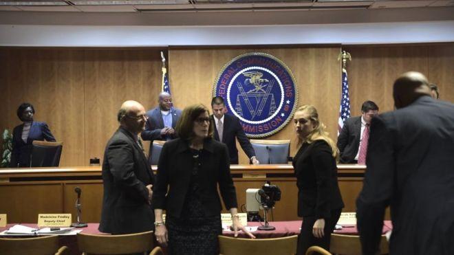 Заседание Федеральной комиссии по связи