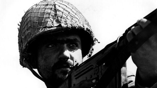 An Israeli soldier, 1967