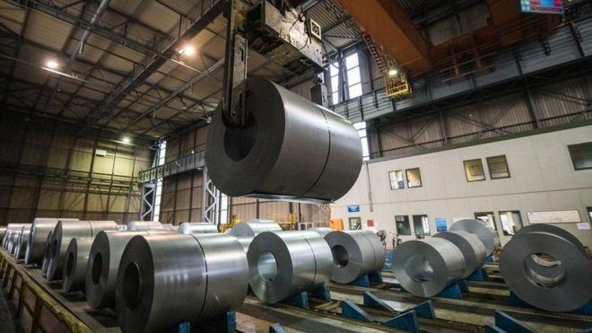 Nhà máy sản xuất thép này ở Đức có thể sẽ bị ảnh hưởng nặng từ mức thuế nhập khẩu của Mỹ