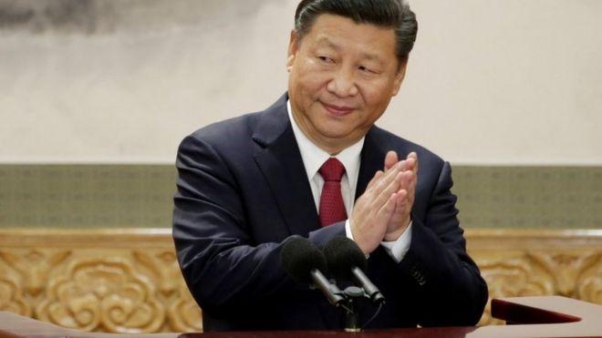 Председатель КНДР Си Цзиньпин