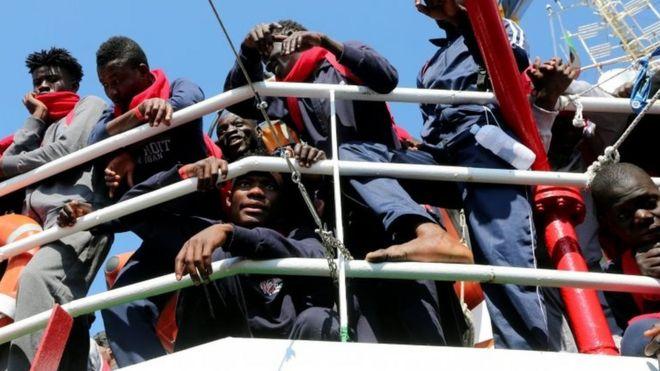 ایتالیا که نزدیکترین ساحل اروپایی به لیبی را دارد، مقصد نخست مهاجرانی است که از بحران لیبی گریختهاند