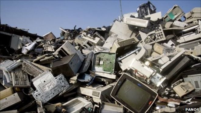 Kerala began disposing off 12,500 kg of its E-waste in a single day, statewide