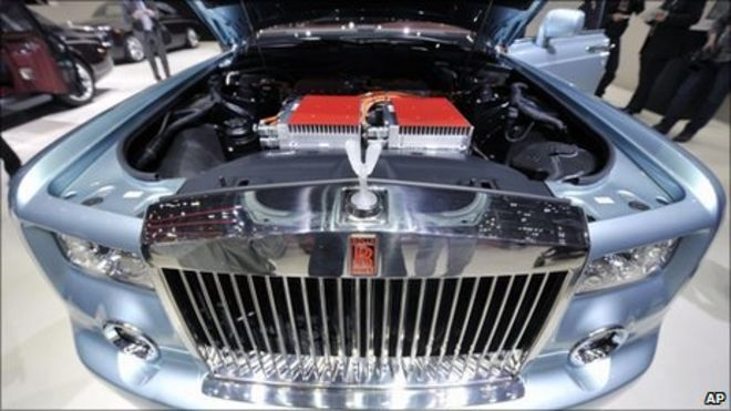 Rolls Royce Launches Electric Car At Geneva Motor Show Bbc News