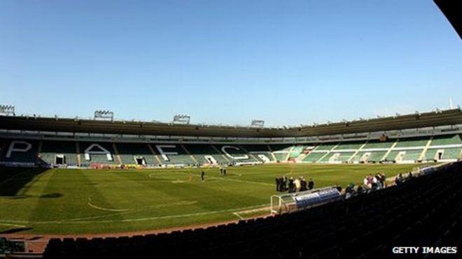 Home Park Stadium Plymouth