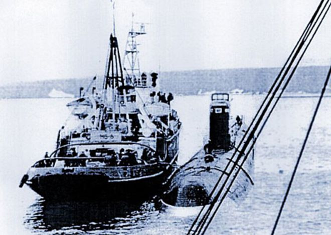 Russian Nuclear Submarine Graveyard 85438   NEWSMOV