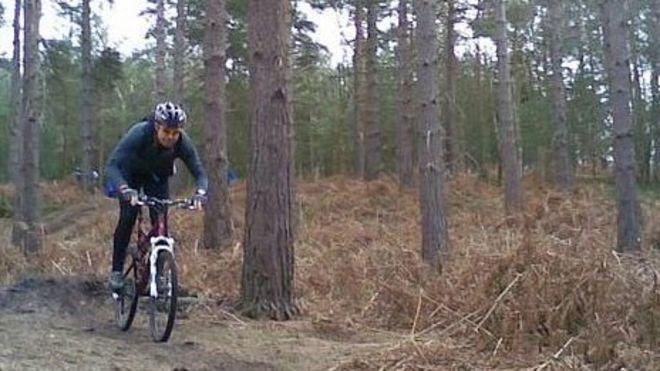 New Swinley Forest Mountain Bike Trails Protect Wildlife Bbc News