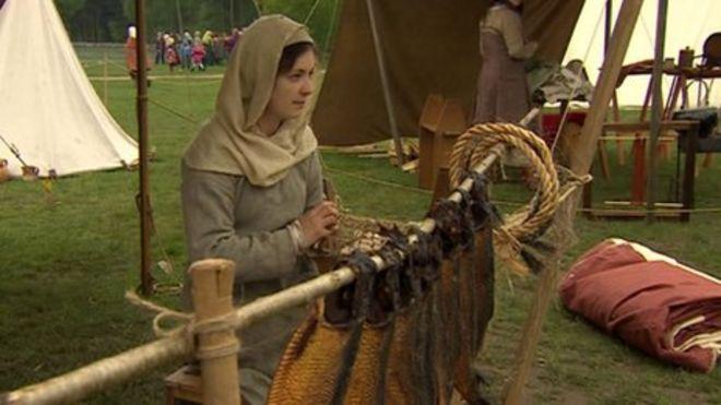 Nottinghamshire Viking site brought to life - BBC News
