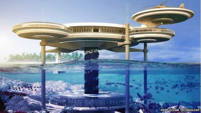 Underwater Hotel Rooms Is Down Becoming The New Up