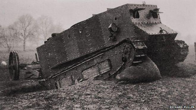World War One: The tank's secret Lincoln origins - BBC News
