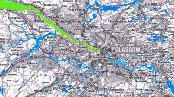 Worksheet. New maps show flooding risk in Scotland  BBC News