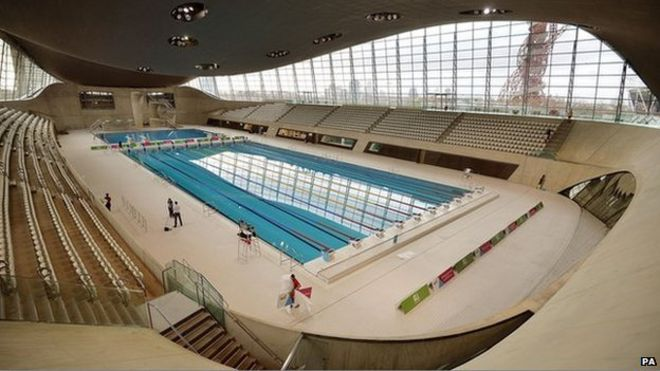Olympic Park Aquatics Centre Reopens
