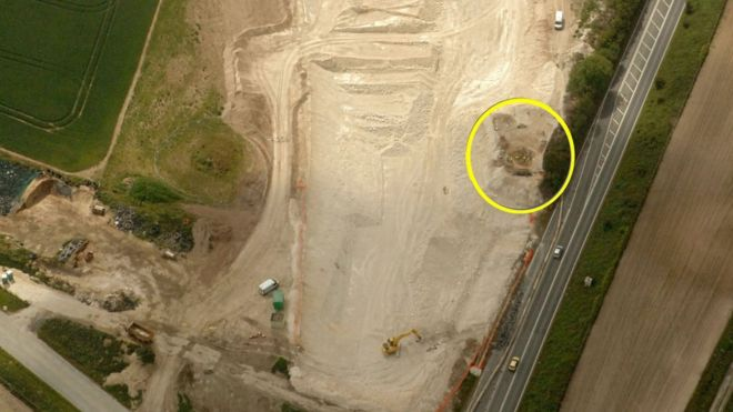 Burial pit found in Weymouth, Dorset