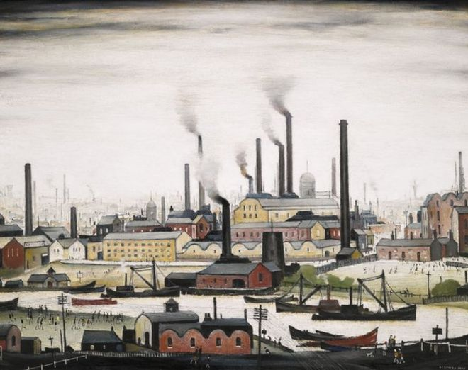LS Lowry collection sells for £15m at auction - BBC News
