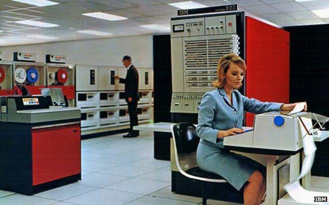 Half-century milestone for IBM mainframes - BBC News