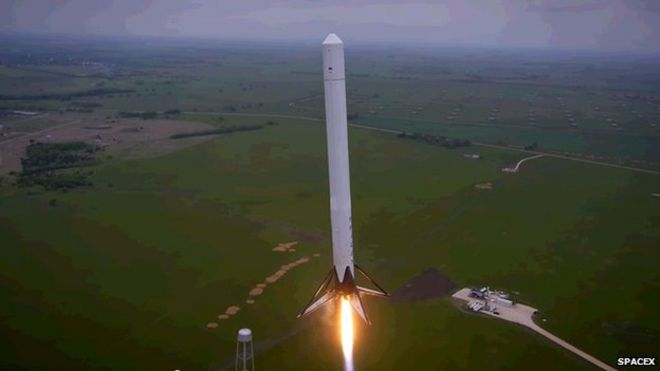image copyright spacex
