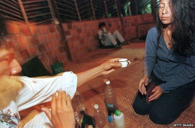 Ayahuasca drug addiction