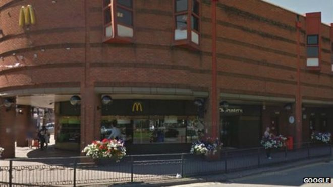 teenager unconscious after redhill attack bbc news redhill mcdonalds