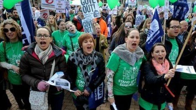 National Union of Teachers' strike set for 10 July - BBC News