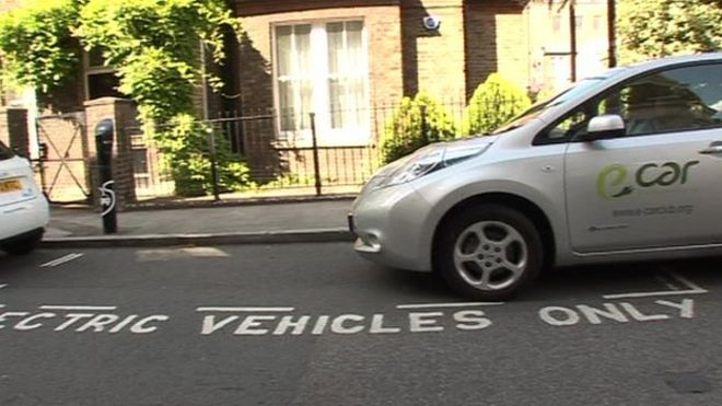 Only Of Mayor S Target Met On Electric Vehicles Bbc News