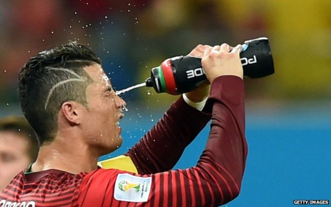 BBCtrending Why Does Cristiano Ronaldo Have Zigzag Hair BBC News - Cr7 new hairstyle 2014