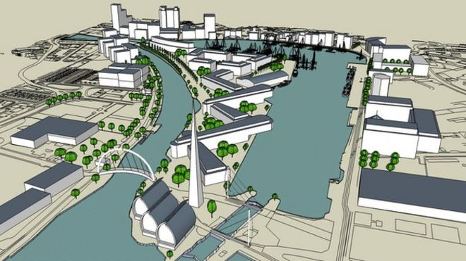 Groovy Ipswich Waterfront Plan Critical To Towns Future Bbc News Largest Home Design Picture Inspirations Pitcheantrous