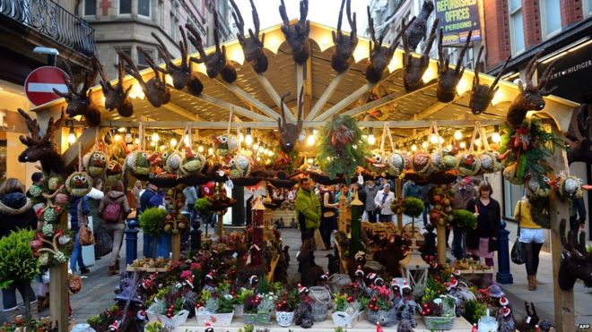 In Pictures: How does Birmingham's Christmas market compare? - BBC ...