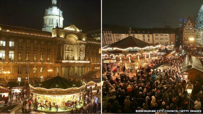 Birmingham Christmas Frankfurt Market: How German is it? - BBC News
