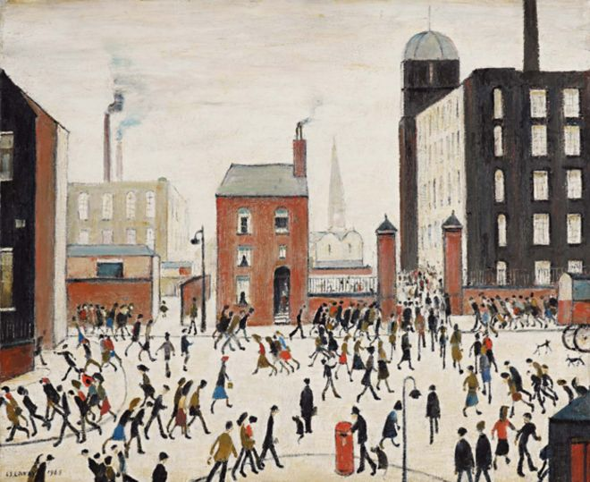 Why China sees itself in Lowry's paintings of industrial Britain ...