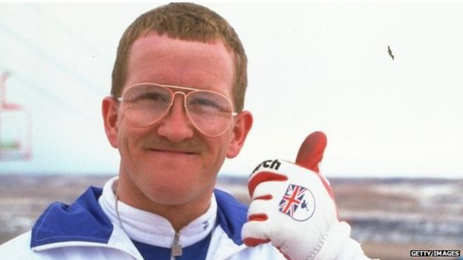 hugh jackman in eddie the eagle movie review