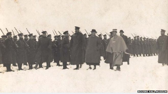 Lord Kitchener inspection